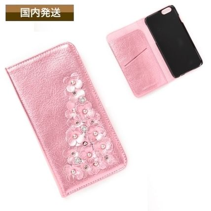 Plain With Jewels Smart Phone Cases