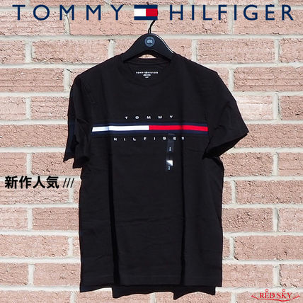 Tommy Hilfiger More T-Shirts Street Style Short Sleeves Logo T-Shirts