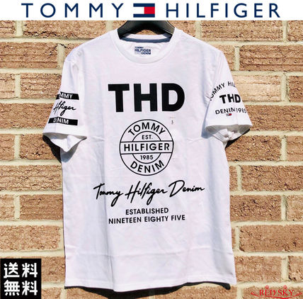 Tommy Hilfiger More T-Shirts Street Style Short Sleeves Logo T-Shirts 5