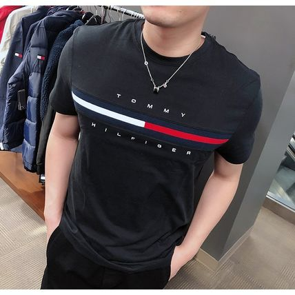 Tommy Hilfiger More T-Shirts Street Style Short Sleeves Logo T-Shirts 2