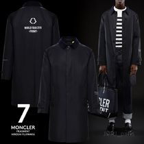 MONCLER Plain Long Chester Coats