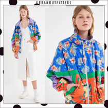 Urban Outfitters Flower Patterns Casual Style Unisex Street Style