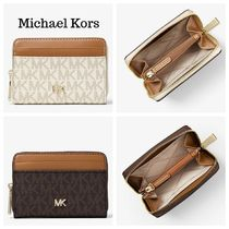 Michael Kors MERCER Blended Fabrics Coin Purses