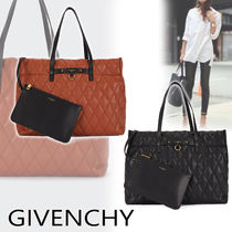 GIVENCHY A4 Plain Leather Totes