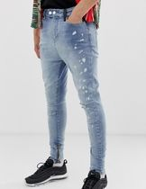 Religion Tapered Pants Cotton Jeans & Denim