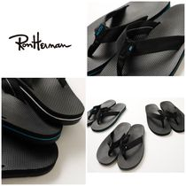 Ron Herman Street Style Plain Shower Shoes Shower Sandals