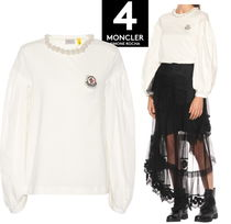 MONCLER MONCLER GENIUS Blended Fabrics Puffed Sleeves Cotton Tops