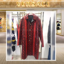 VERSACE Other Animal Patterns Long Chester Coats