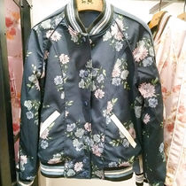 Coach Short Flower Patterns Star Casual Style Street Style Jackets