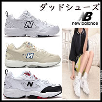 New Balance 608 Unisex Street Style Leather Low-Top Sneakers