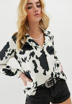 ASOS Casual Style Long Sleeves Other Animal Patterns Long