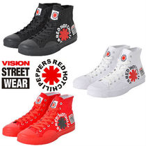 Vision Street Wear Street Style Collaboration Low-Top Sneakers