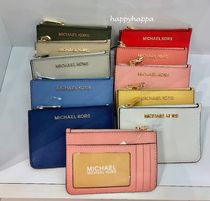 Michael Kors Monogram PVC Clothing Card Holders