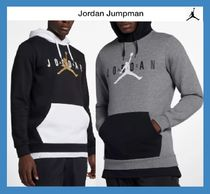 Nike AIR JORDAN Pullovers Street Style Collaboration Long Sleeves Plain