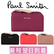 Paul Smith Unisex Plain Leather Keychains & Bag Charms