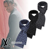 Louis Vuitton Monogram Wool Scarves