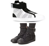 Y-3 Collaboration Low-Top Sneakers