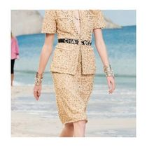 CHANEL Tweed Medium Midi Skirts