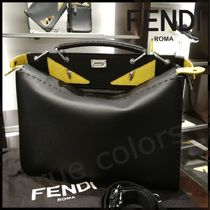 FENDI PEEKABOO Calfskin A4 2WAY Business & Briefcases