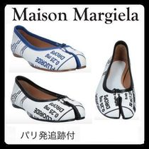 Maison Margiela Tabi Plain Leather Handmade Ballet Shoes