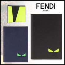 FENDI Plain Leather Accessories