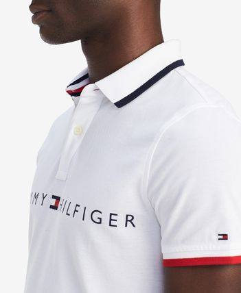 Tommy Hilfiger Polos Plain Cotton Short Sleeves Polos 4