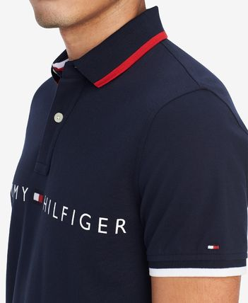 Tommy Hilfiger Polos Plain Cotton Short Sleeves Polos 2