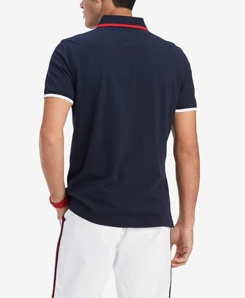 Tommy Hilfiger Polos Plain Cotton Short Sleeves Polos 3
