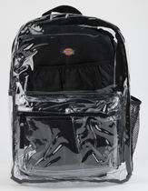 Dickies Street Style Plain Crystal Clear Bags PVC Clothing Logo