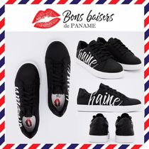 Bons baisers de Paname Leather Low-Top Sneakers