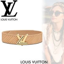 Louis Vuitton EPI Casual Style Street Style Leather Bracelets