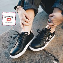 Bons baisers de Paname Casual Style Logo Low-Top Sneakers