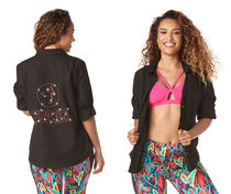 ZUMBA Collaboration Yoga & Fitness Tops