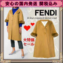 FENDI Cashmere & Fur Coats