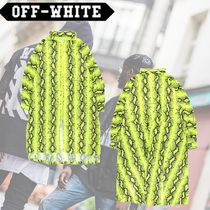 Off-White Long Python Jackets