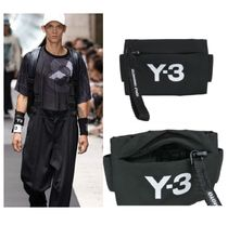 Y-3 Unisex Street Style Wallets & Small Goods