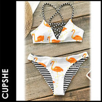 CUPSHE Stripes Other Animal Patterns Beachwear