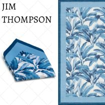 JIM THOMPSON Flower Patterns Cotton Handkerchief