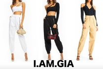 I.AM.GIA Casual Style Street Style Chain Plain Pants