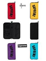 Supreme Unisex Street Style Collaboration Bags