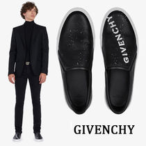 GIVENCHY Street Style Plain Leather Loafers & Slip-ons