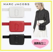MARC JACOBS Dots Street Style 3WAY Chain Plain Leather Elegant Style