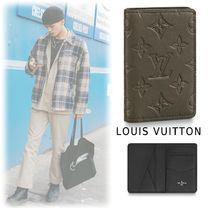 Louis Vuitton 2019-20AW MONOGRAM ELEGANT CARD CASE gray one size