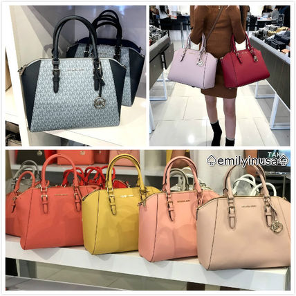 Michael Kors Handbags Saffiano A4 2WAY Handbags