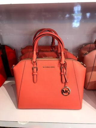 Michael Kors Handbags Saffiano A4 2WAY Handbags 11