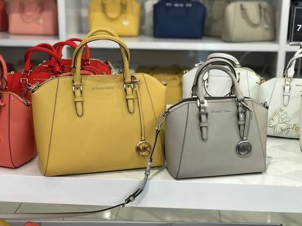 Michael Kors Handbags Saffiano A4 2WAY Handbags 13