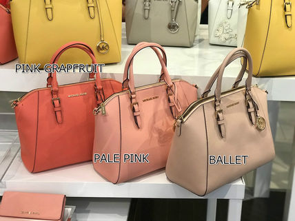 Michael Kors Handbags Saffiano A4 2WAY Handbags 15