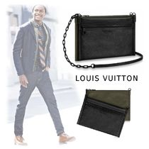 Louis Vuitton Monogram 2WAY Leather Messenger & Shoulder Bags