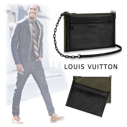 Louis Vuitton Messenger & Shoulder Bags 2019-20AW MONOGRAM MODERN MESSENGER black one size bag