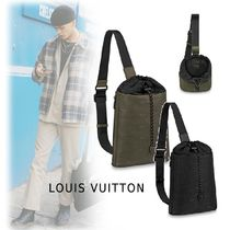 Louis Vuitton 2019-20AW MONOGRAM SLING BAG black, khaki one size bag